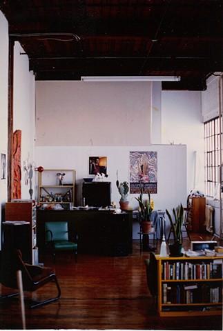 2nd studio, 2154 Dundas West, Toronto, 1983-1987