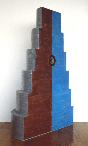 wax, pigment, wood, metal, speaker