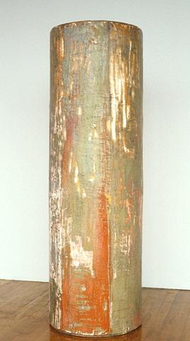 wax, pigment on sculpture