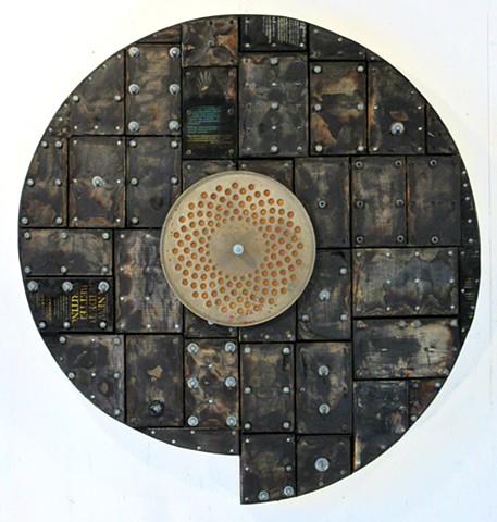 assemblage Marc Gagne art book+art burnt+art
