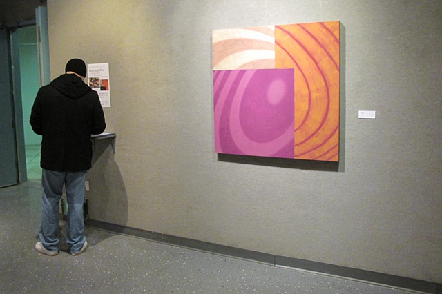 """""""Near and Far"""" exhibition view"""