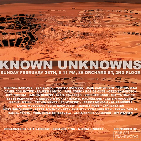 Known Unknowns Group Exhibition