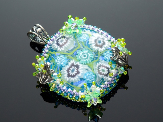 Water Lily Pond Pendant