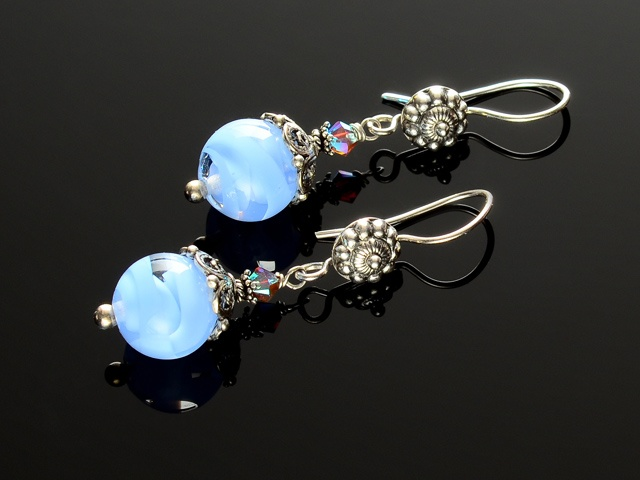 Perfect Periwinkle Earrings