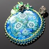 Water Lily & Frog Pond Pendant