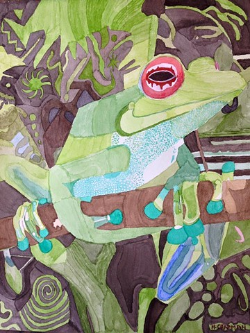 Grinning Frog
