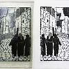 Aleppo Street (paper and glass versions together)