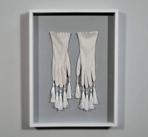 Adornments: To Show To Hide (detail)  Gloves