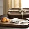 Black Walnut Serving Set - Cutting Board and Serving Plate