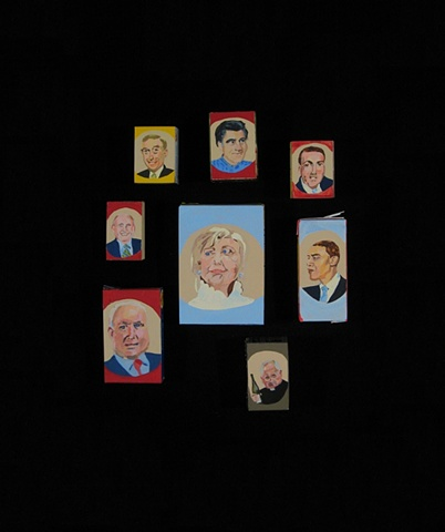 2008 US presidential candidates various parties
