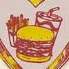 Enjoy Your Burger (red)