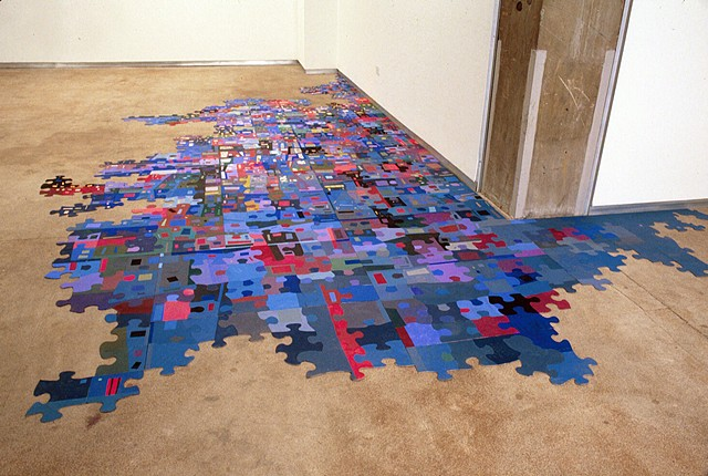 587 Pieces, Bill Maynes Gallery, NY, NY