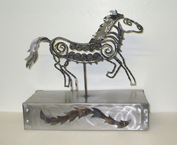 Horse Sculpture Commission
