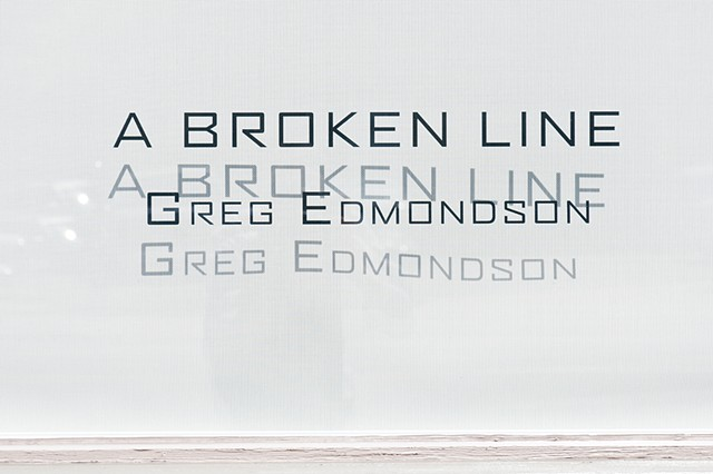 A Broken Line, window display