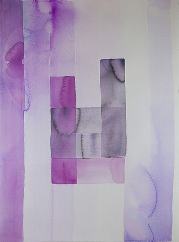 painting, on paper, abstraction
