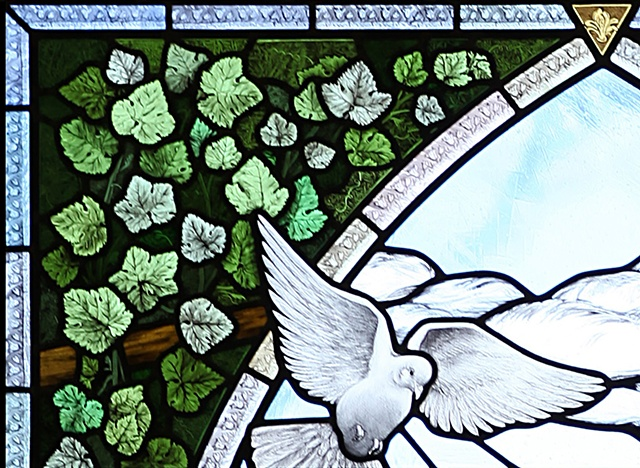 St Henry, Nashville: The Joyful Mysteries of the Rosary (detail)