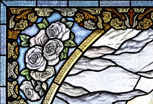 St Henry, Nashville: The Glorious Mysteries of the Rosary (detail)