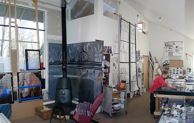 Vermont studio