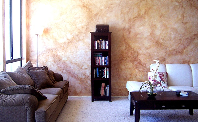 Superb Faux Finish Living Room. Interior Home Paint Part 3