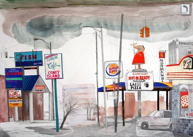 Classic Coney, Detroit, MI