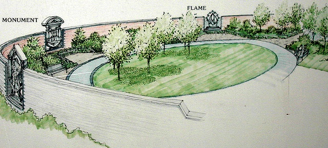 Black Country Route architectural rendering; Pocket Park