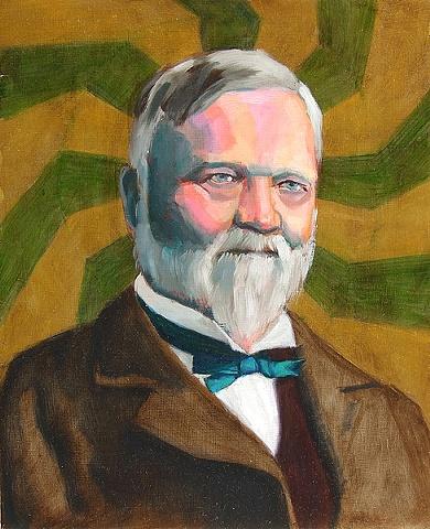 Icon series -- Andrew Carnegie