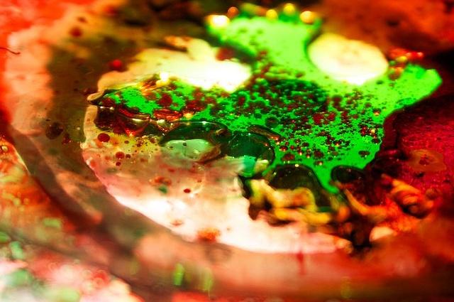 Close up of Liquids