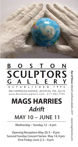 Mags Harries at Boston Sculptors Gallery: Adrift