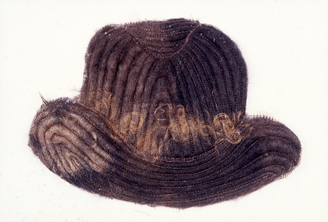 Hair Hat, Drawing