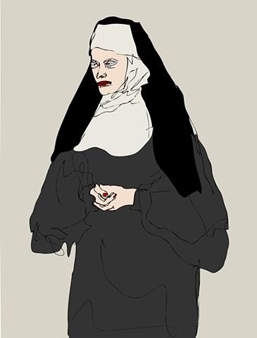 Kali (Beautiful Nun)