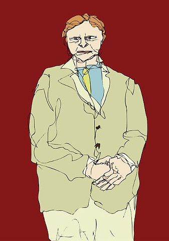 Portrait of Mr. Abbott