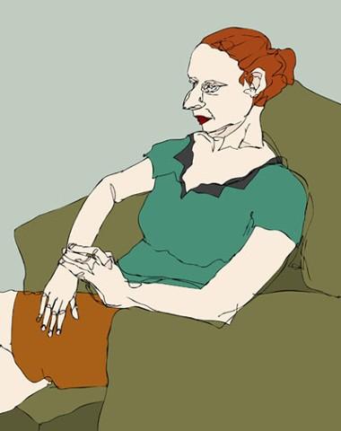 Jane, Seated