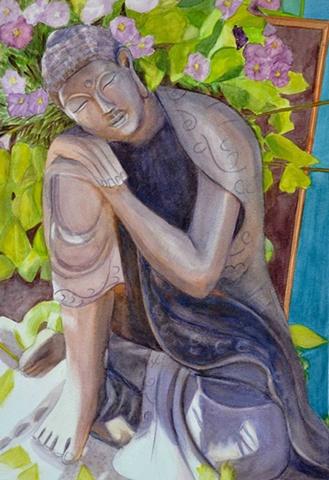 Blooming Buddha