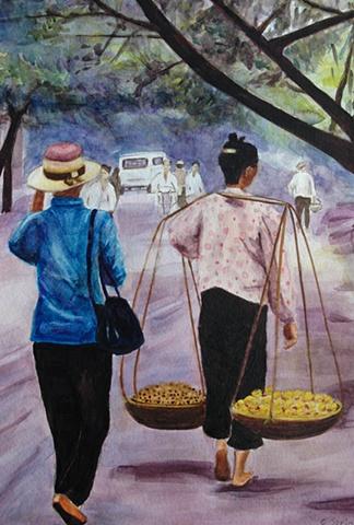 Two Vietnamese women