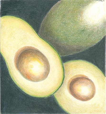 Avocados  by Vivian Talley