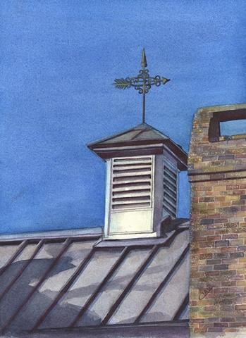 Rooftop Weathervane