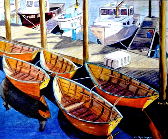 Boats in Gloucester
