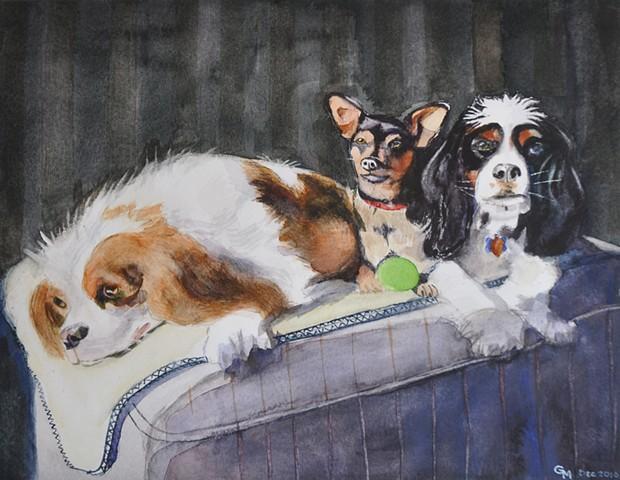 Three Buddies