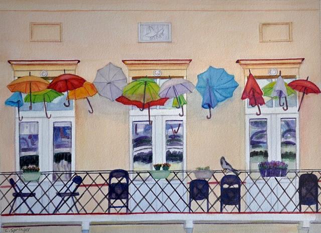 Umbrellas of Warsaw
