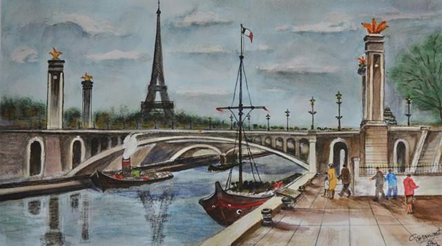Pont Alexandre, Paris