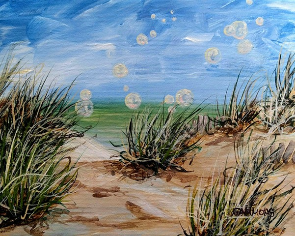 beach bubbles #lauragammonsstudios laura gammons @lauragammons #camplaura #lauragammons  sun sunshine ocean vacation love bliss seaoats beachgrass sanddunes