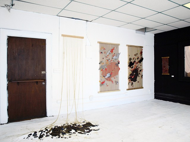 Installation View of Silex II, Prospect I, and Congress