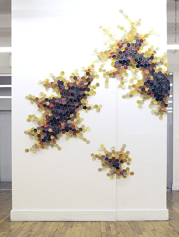 Fault Lines (Installation View from NYCAMS Gallery)