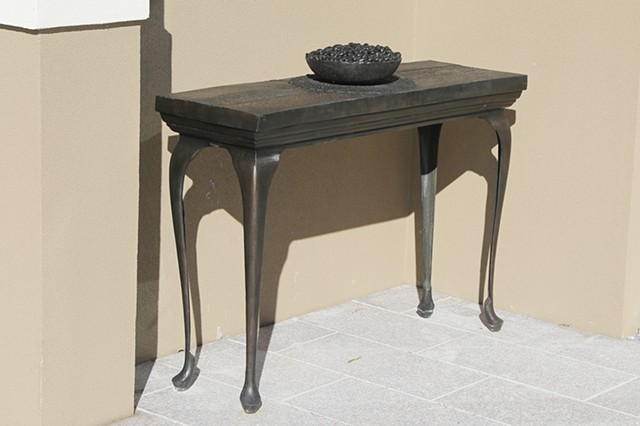 Rosewood - Bronze Table