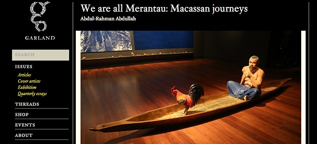 Garland Magazine - We are all merantau