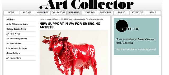 Art Collector - New Support In WA For Emerging Artists