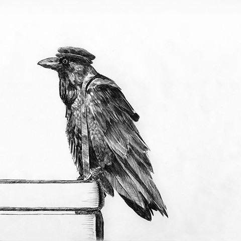 Bertram Black by Dan Fionte Newburyport artist and illustrator