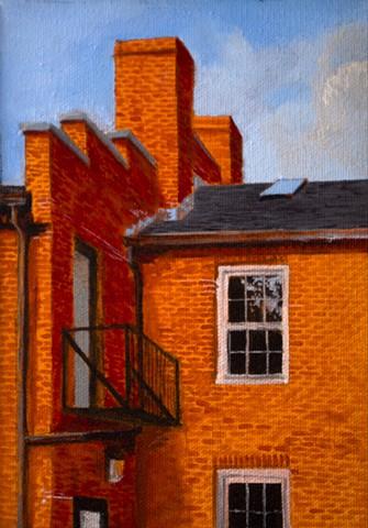 Dan Fionte Newburyport Inn Street Backsider