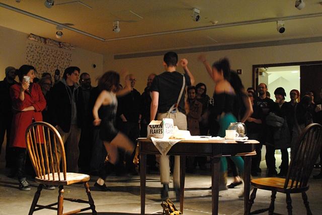 A housewife's Flashdance fantasy, and a Flashdance dance mob mini