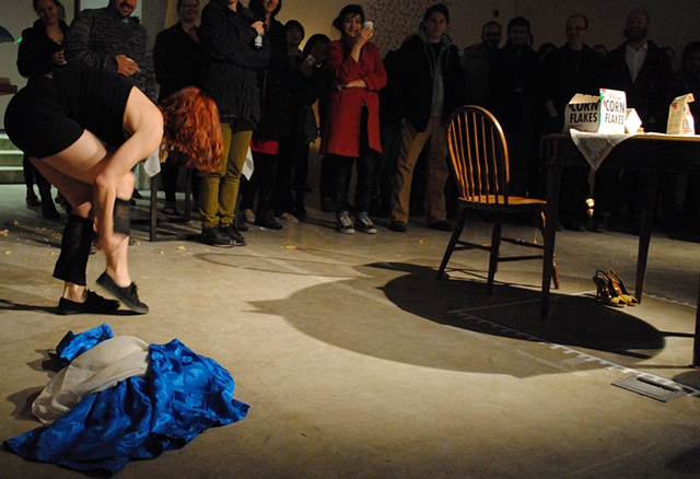 A housewife's Flashdance fantasy